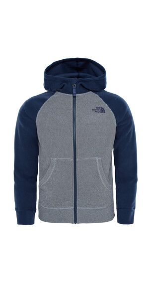 The North Face Glacier sweater Kinderen grijs/blauw